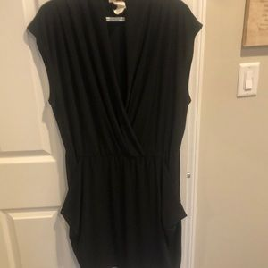 Block Cocktail Dress-Plus Size